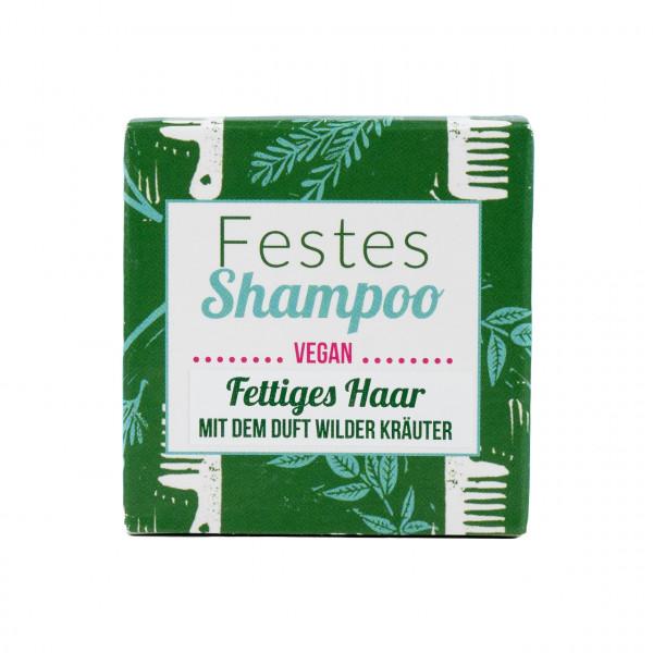 Festes Shampoo wilde Kräuter