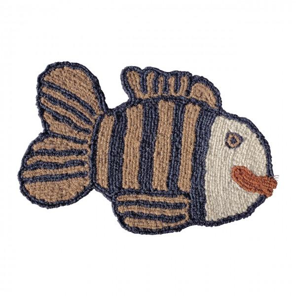 Fußmatte Streifenfisch