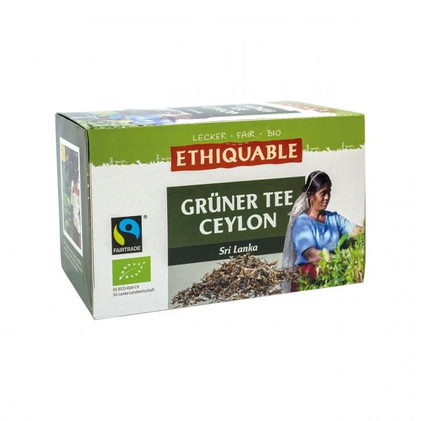 Grüner Tee Ceylon