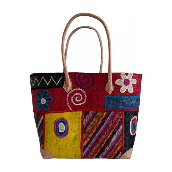 Einkaufstasche Patchwork