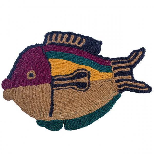 Fußmatte Kugelfisch