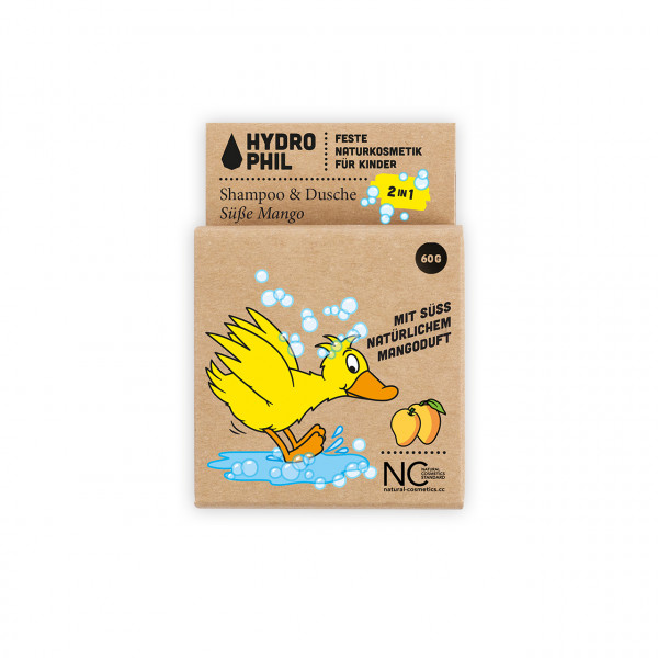 Festes Shampoo 2in1 Süße Mango Ente