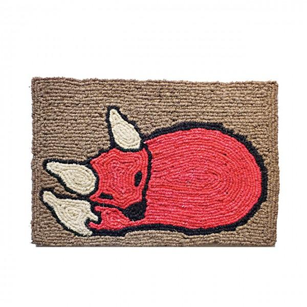 Fußmatte Schlafender Fuchs