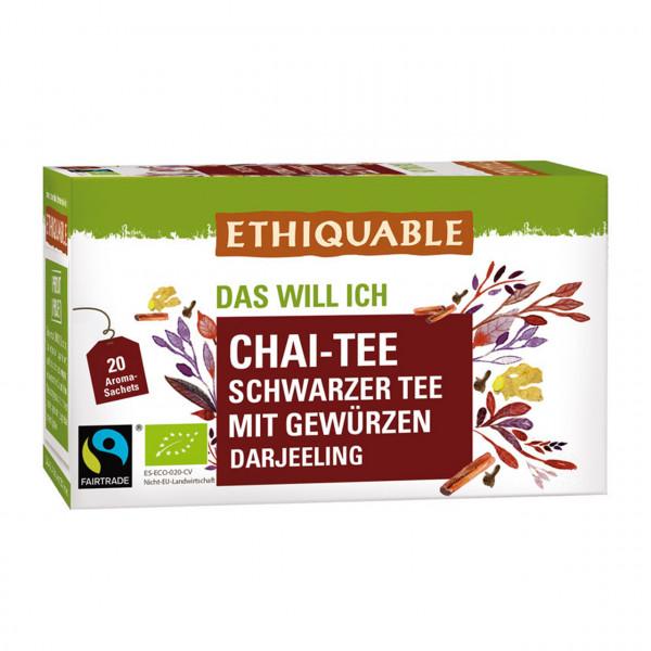 Chai-Tee - Schwarzer Tee mit Gewürzen
