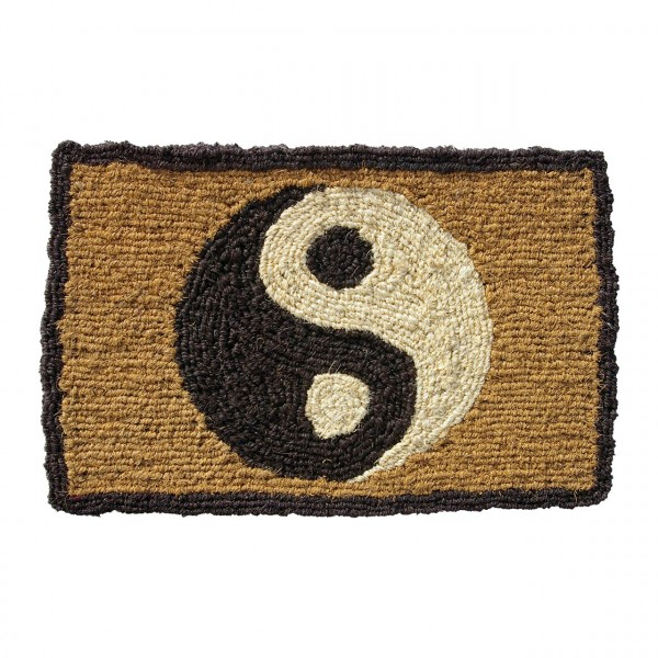 Fußmatte Yin Yang