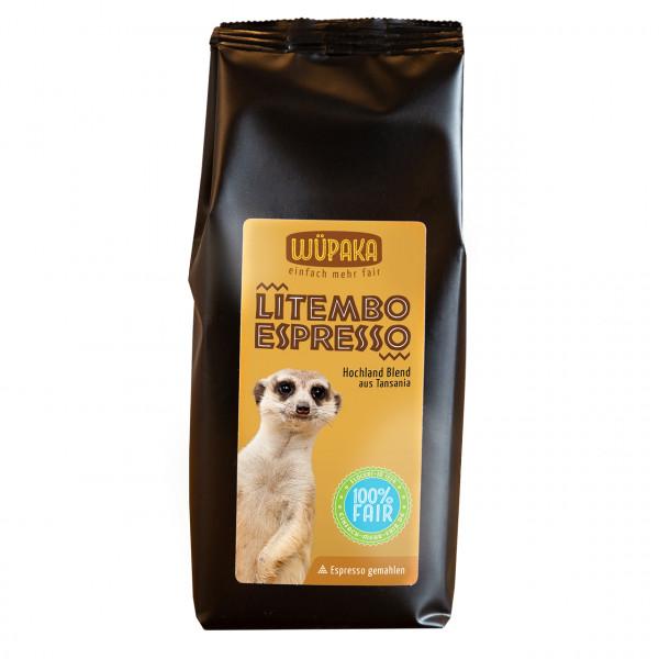 """Litembo Espresso"" gemahlen"