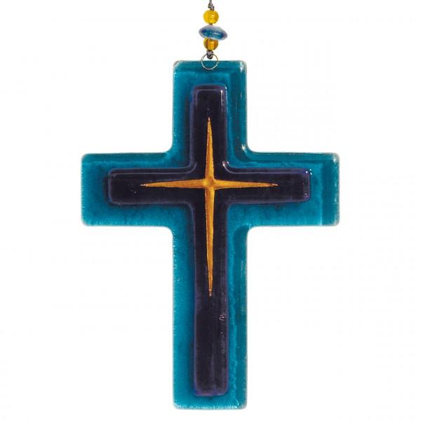 Kreuz blau
