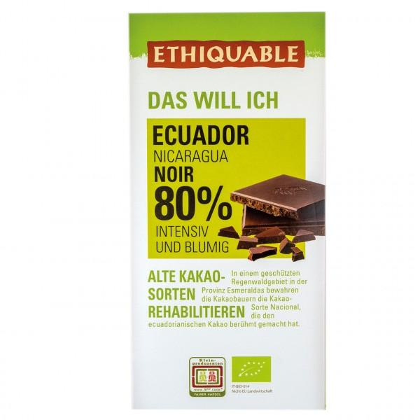 Zartbitter Schokolade 80 %