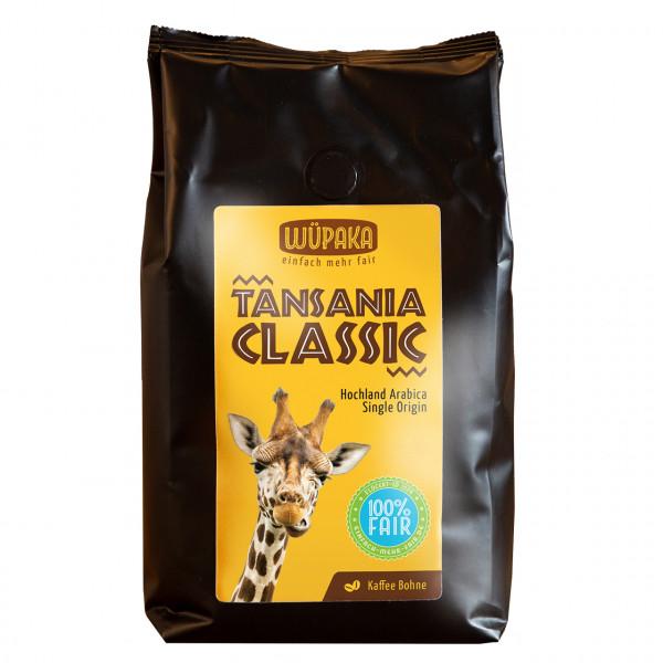 """Tansania Classic"" Kaffee ganze Bohne"