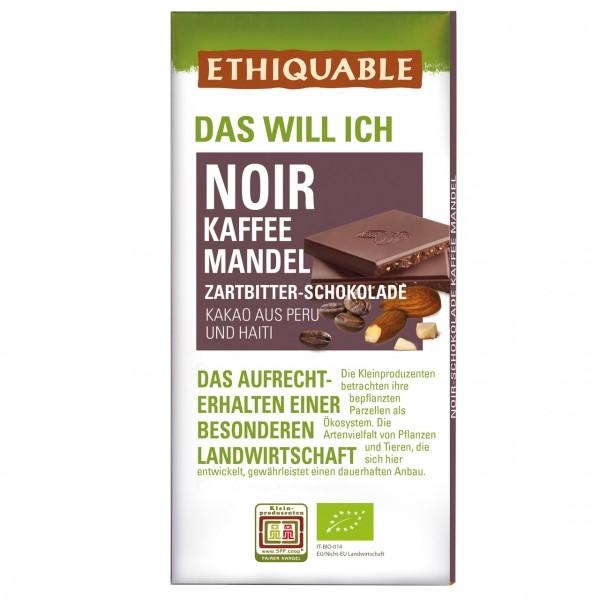 Zartbitter Schokolade Kaffee Mandel