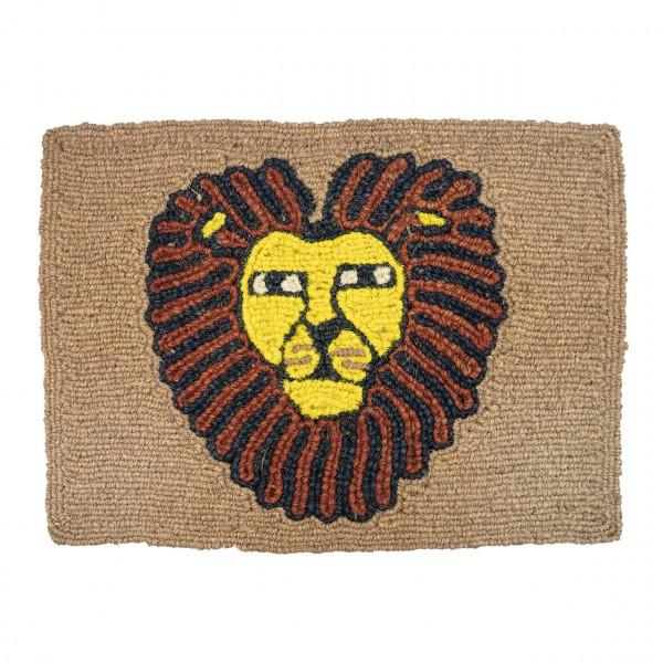Fußmatte Löwenkopf