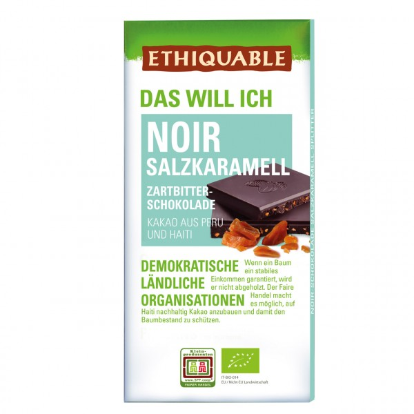Zartbitter Schokolade Salzkaramell