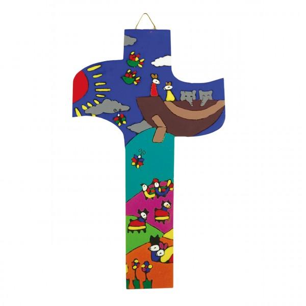 Kreuz Arche Noah gerundet