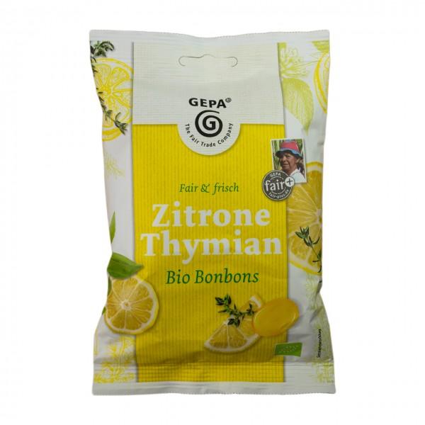 Zitrone Thymian Bio Bonbons