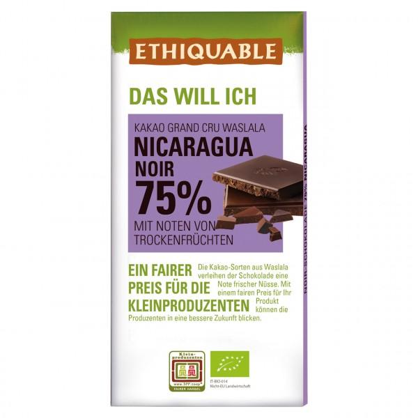 Zartbitter Schokolade 75 %