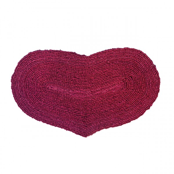 Fußmatte Großes Herz rot
