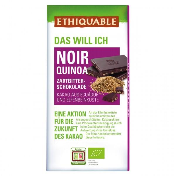 Zartbitter Schokolade Quinoa