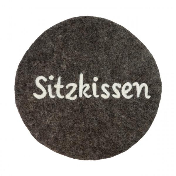 """Filzkissen """"Sitzkissen"""""""
