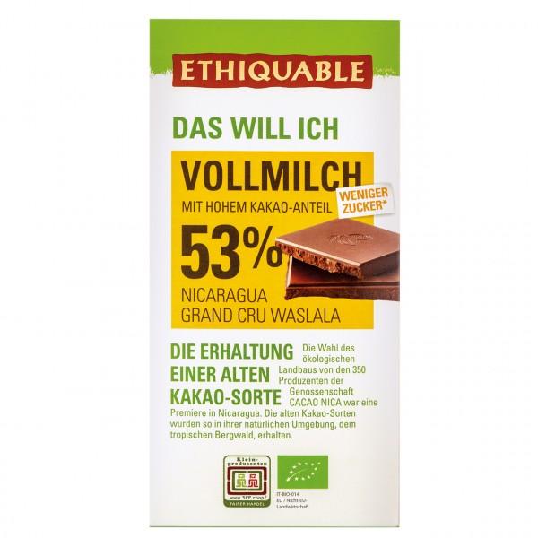 Vollmilch Schokolade 53 %