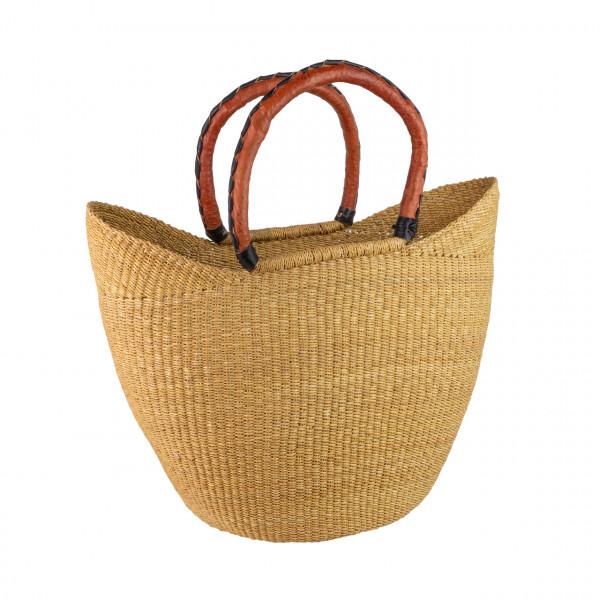 Bolga-Korb U-Shopper natur