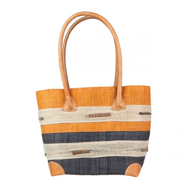 Einkaufstasche Cinnamon 6 Querstreifen