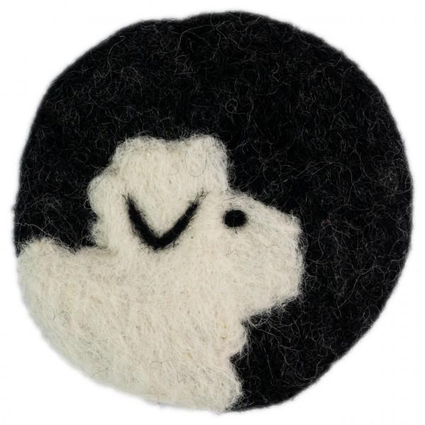 Tassenuntersetzer Schaf