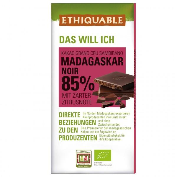 Zartbitter Schokolade 85 %