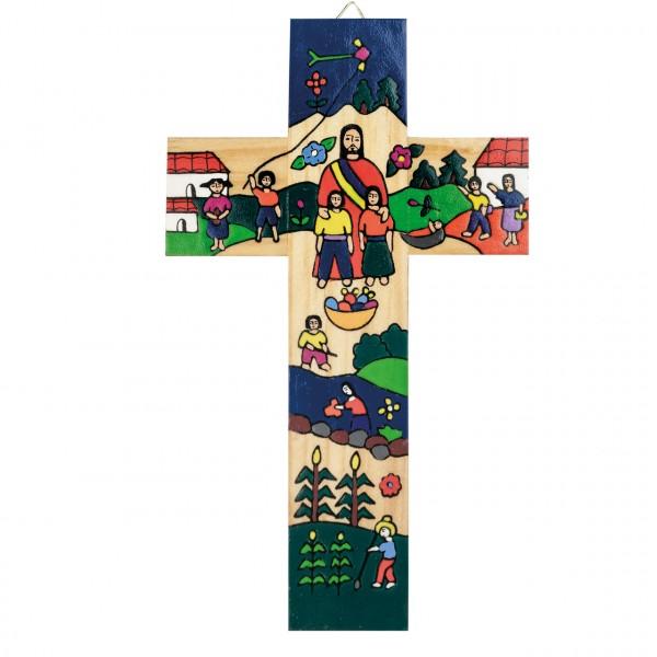 Kreuz Jesus und Familie/Kinder