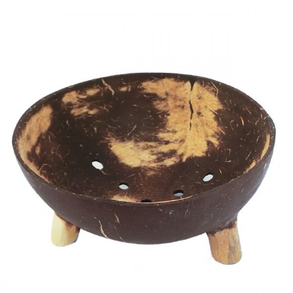 Kokos-Seifenschale