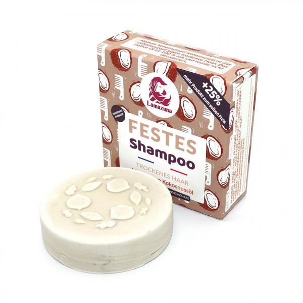 Festes Shampoo Vanille & Kokosnussöl