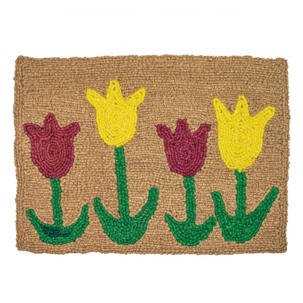 Fußmatte Tulpen