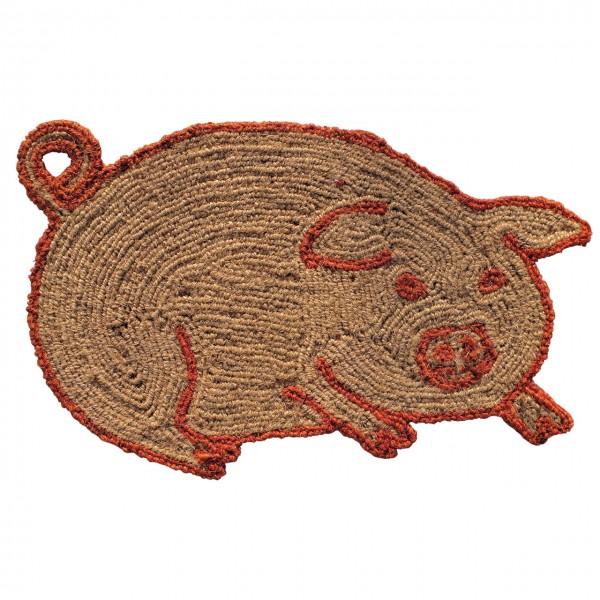 Fußmatte Glücksschwein