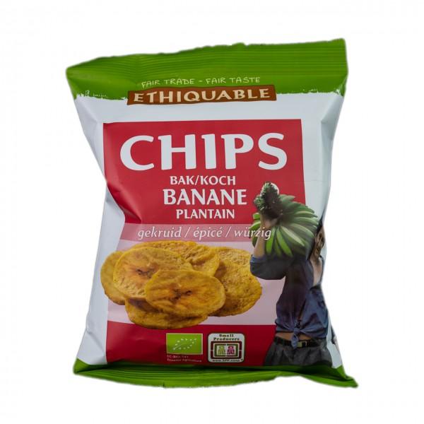 Bananenchips würzig