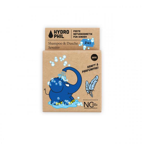 Festes Shampoo 2in1 Sensitiv Elefant