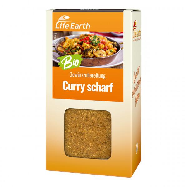Gewürzzubereitung Curry scharf