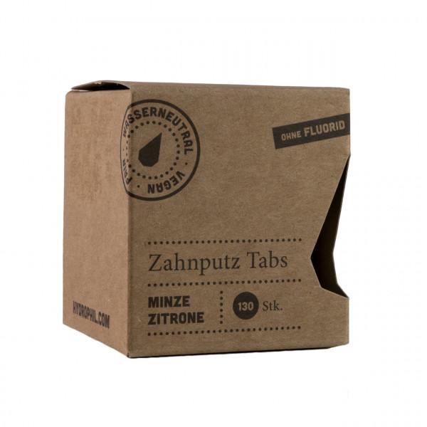 Zahnputz Tabs Minze/Zitrone