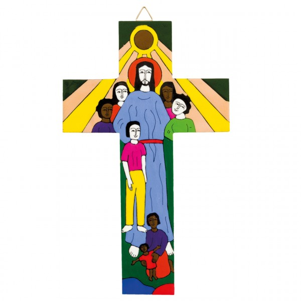 Kreuz Jesus und die Kinder