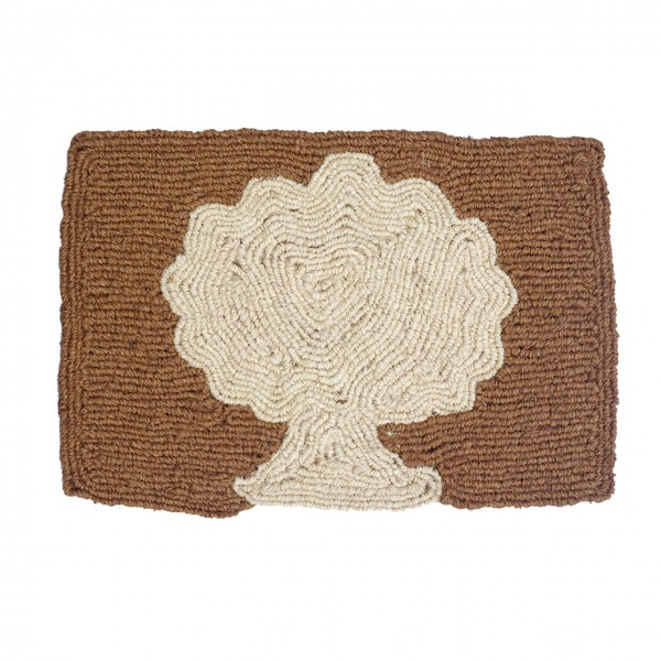 Fußmatte Baum natur